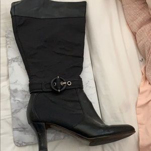 Naturalized wise calf boot